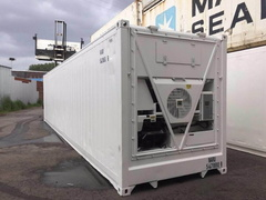 40' HC Reefer shipping container in New (One-Trip) condition #3