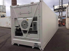 40' HC Reefer shipping container in New (One-Trip) condition #1
