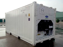20' Refrigerated shipping container in New (One-Trip) condition #1